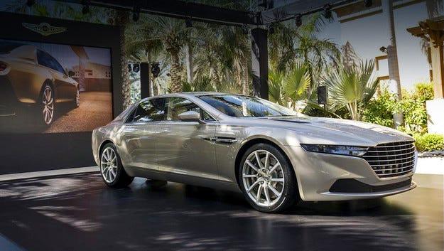 Aston Martin Lagonda получава добавка Taraf в името