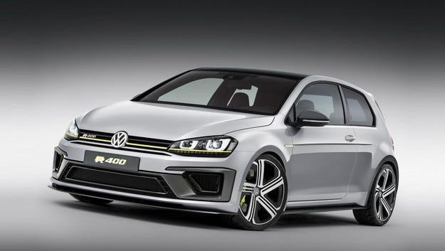 VW одобри серийното производство на Golf R400