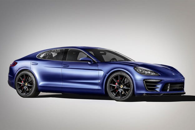 Новото поколение Porsche Panamera идва през 2016