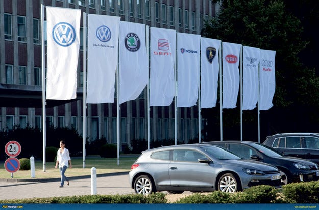 Продажбите на VW Group в Европа скочиха с 3%