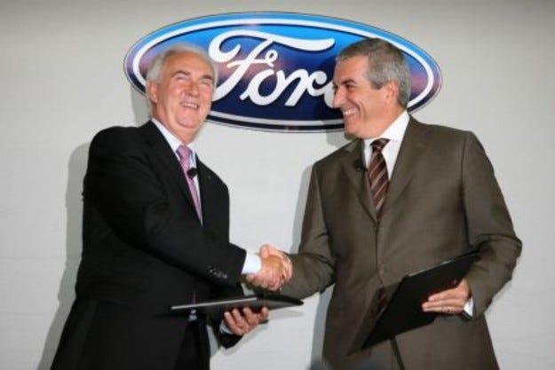 Ford купува румънски завод от правителството