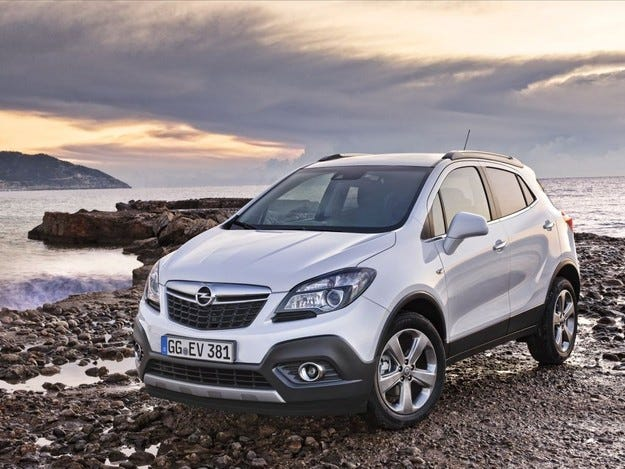 В Санкт Петербург ще сглобяват кросоувъра Opel Mokka