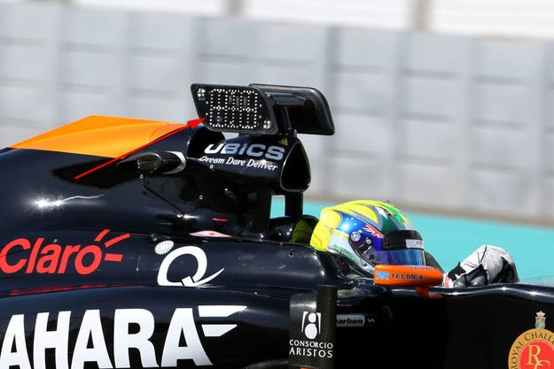 Тестват нова информационна система във Формула 1