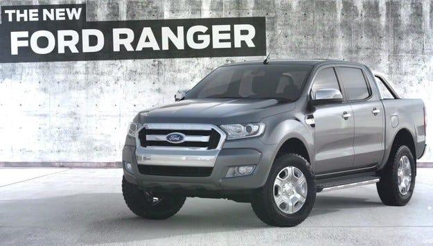 Ford разсекрети обновения пикап Ranger