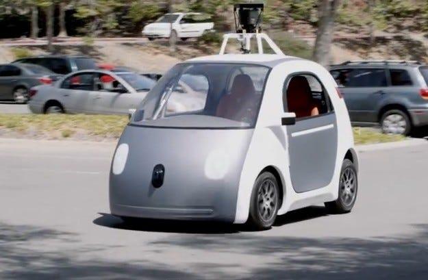 Автономният автомобил Google ще се движи по-бързо