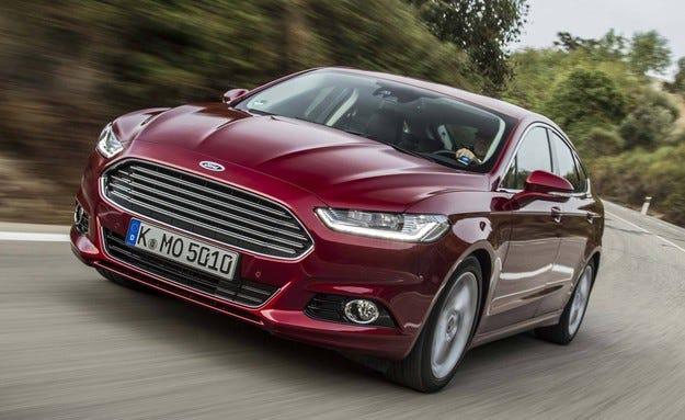 Ford Mondeo с 5 звезди на тестовете за безопасност
