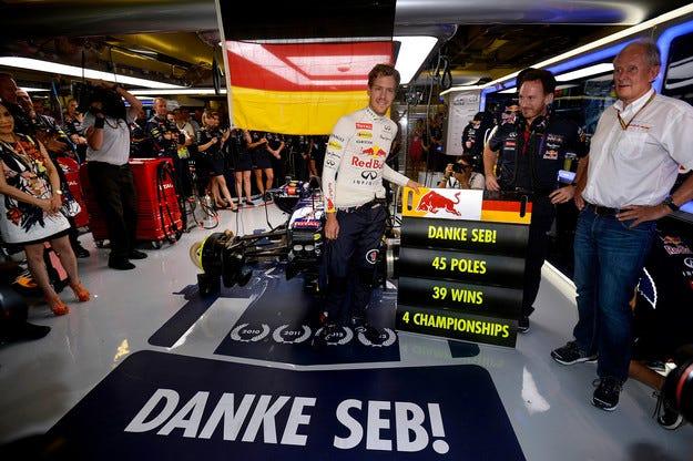 Фетел ще има свой собствен болид на Red Bull