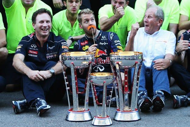 Откраднаха трофеите на Red Bull