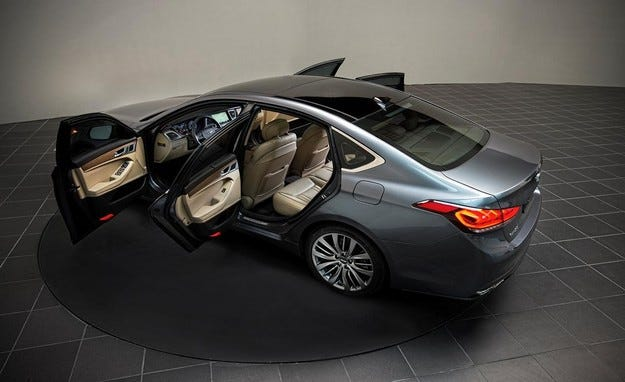 Hyundai Genesis: Сътворението на автомобила 7