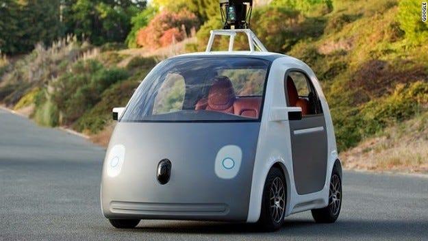 Google пуска работещ прототип на колата с автопилот