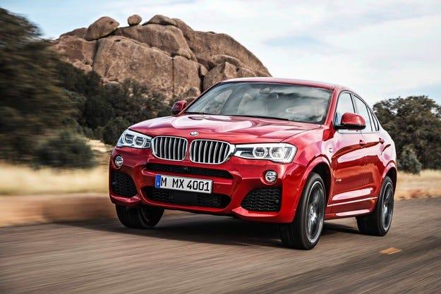 """Не е изключено BMW X3 и X4 да получат """"горещи"""" версии"""