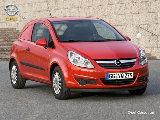 Световна премиера на Opel Corsavan в Брюксел