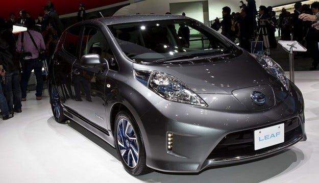Nissan Leaf е най-продаваният електромобил в Европа