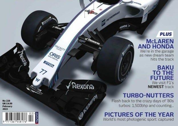 Вижте новия Williams FW37!