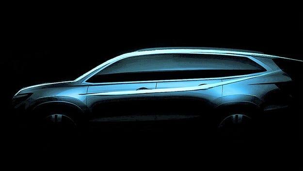 Honda показа първия тийзър на новия всъдеход Pilot