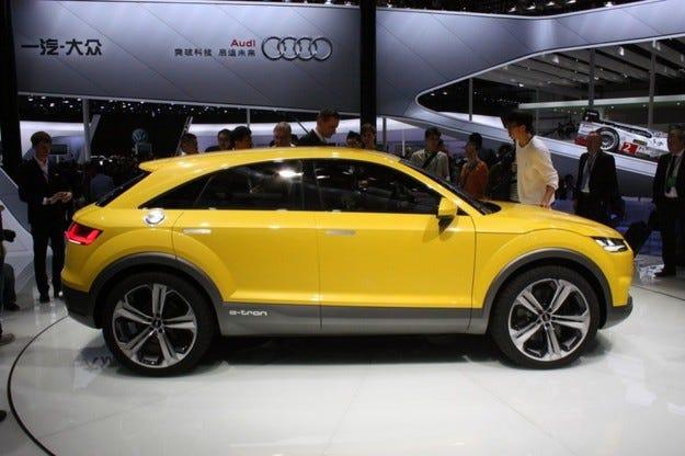 Audi измисли името на новия компактен кросоувър