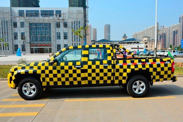 В Китай създадоха копие на Volkswagen Amarok