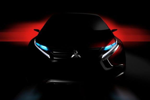 Mitsubishi ще покаже концепт на хибриден кросоувър