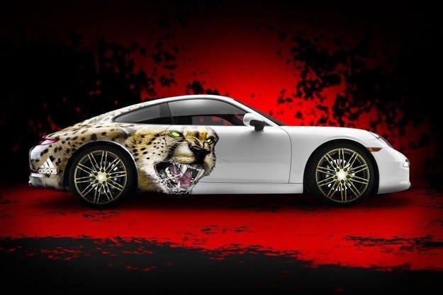 Porsche и Adidas показаха модел за американски футболисти