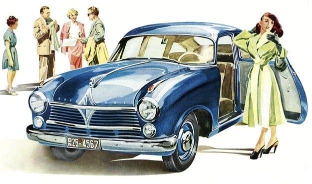 В Германия възродиха автомобилния бранд Borgward