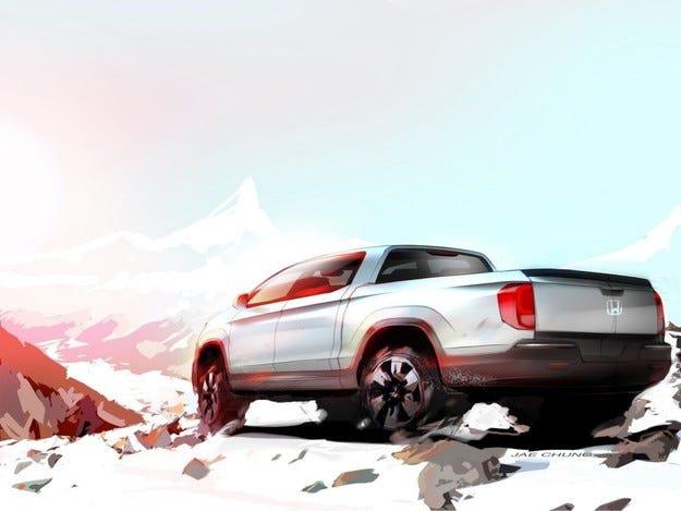 Японската компания Honda показа новия пикап Ridgeline