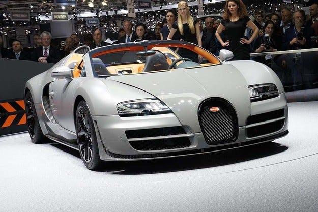 Краят на една ера: Bugatti продаде последния Veyron