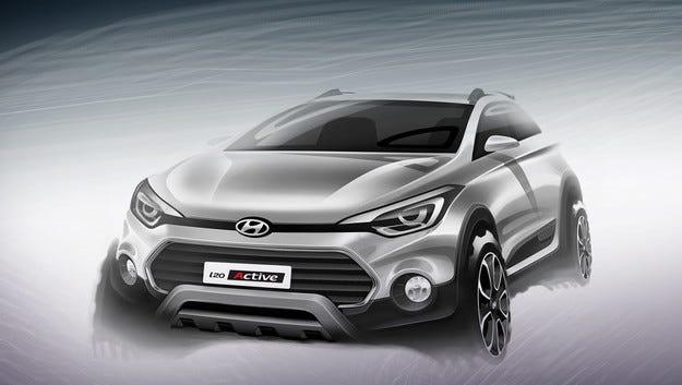 Компанията Hyundai ще превърне i20 в кросоувър
