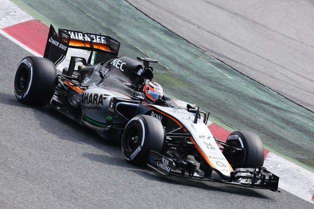 Force India започна тестовете с новия автомобил