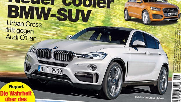 Баварците пускат BMW Urban Cross през 2017 година