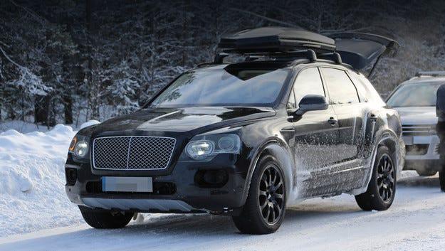 Bentley Bentayga излиза на пазара следващата година