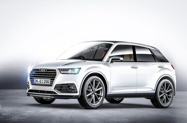 Новият кросоувър Audi Q1 ще бъде представен догодина