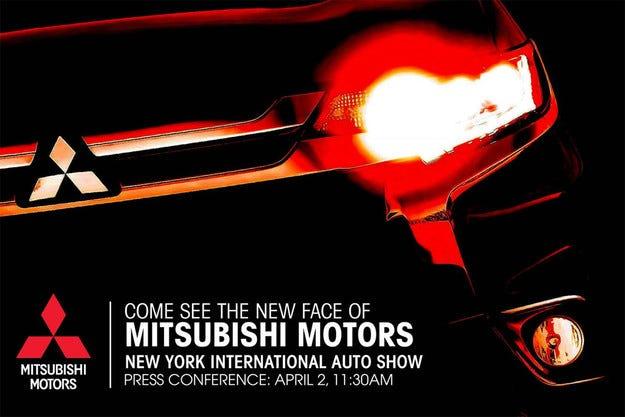 Mitsubishi пусна първо изображение на обновения Outlander