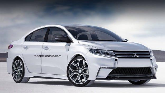 Няма смисъл да очакваме нов седан Mitsubishi Lancer