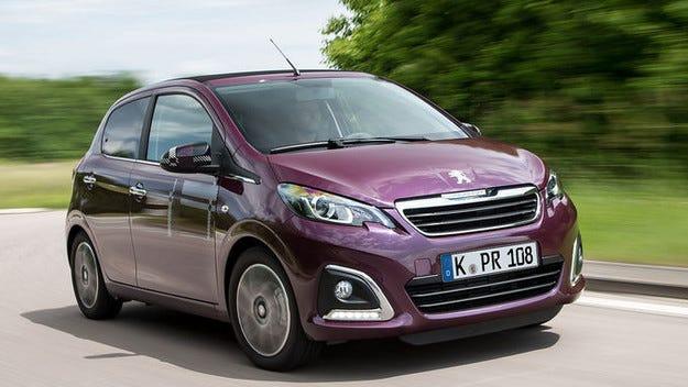 Малкият Peugeot 108 става по-различен и по-надежден