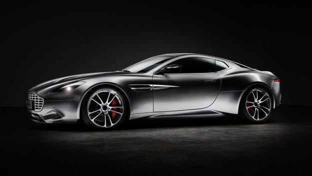 Хенрик Фискер представи концепт на базата на Aston Martin