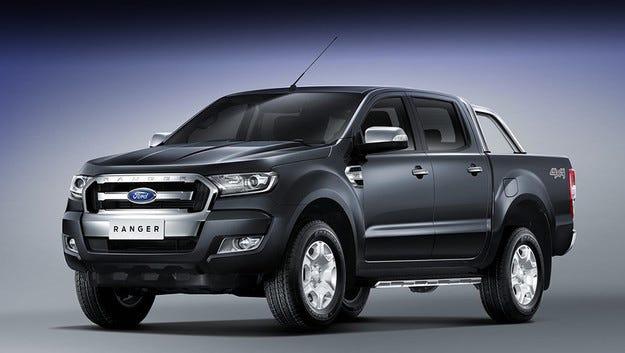 Компанията Ford даде нова физиономия на пикапа Ranger