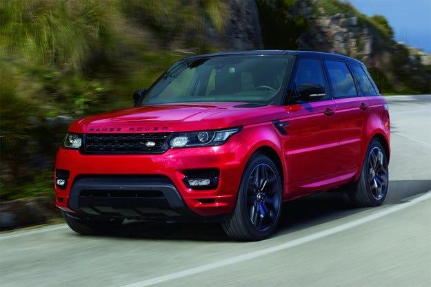 Добавят още мощност на кросоувъра Range Rover Sport