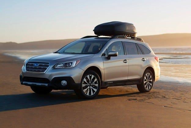 Наследникът на Subaru Tribeca ще прилича на Outback