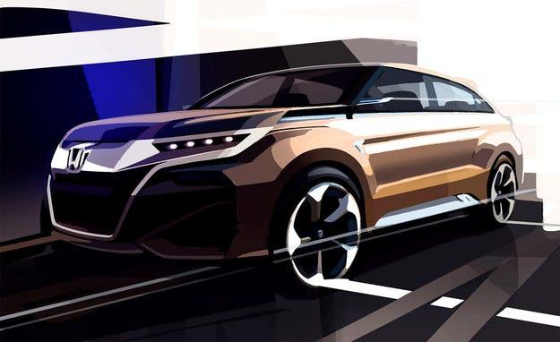Honda ще представи в Шанхай нов концептуален кросоувър