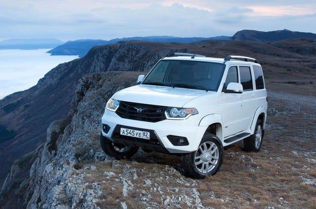 Компанията УАЗ разработва високопроходим модел