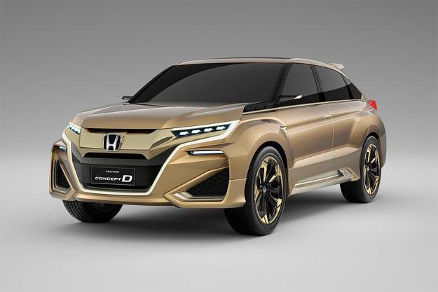 Honda представи предвестник на нов кросоувър