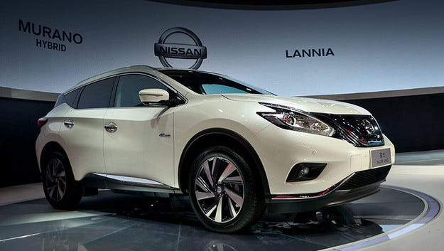Nissan Murano получи хибридна задвижваща система