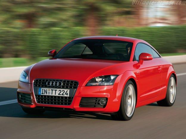 Audi представи най-евтината модификация TT