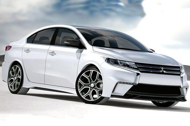 Mitsubishi ще разкрие обновен Lancer през 2015 г.