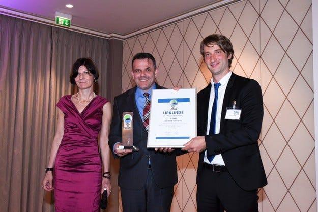 Opel Movano спечели престижната награда Green Van 2015