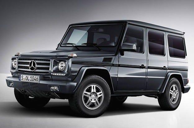 Mercedes G500 ще получи двигател с 422 конски сили