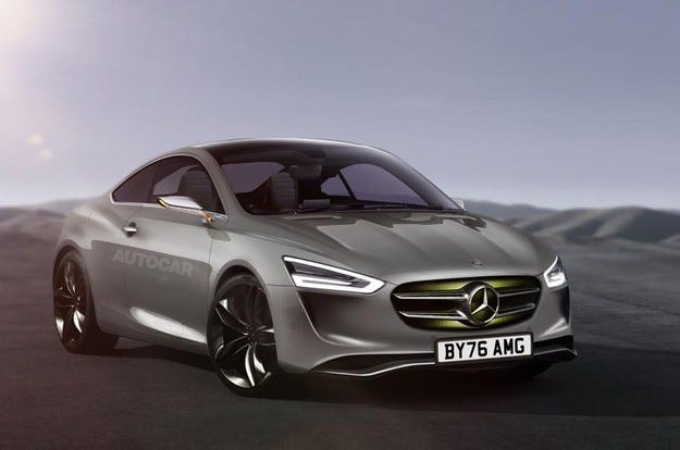 Mercedes ще представи ново спортно купе през 2019 г.