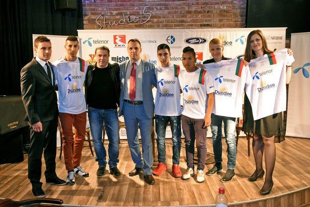 """Теленор пак е генерален спонсор на """"Отбора на надеждата"""""""