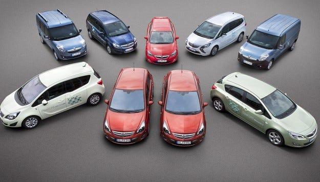 Opel разширява гамата заводски автомобили на LPG и CNG