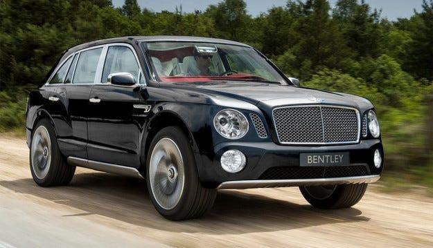 Bentley показва интериора на първия си кросоувър